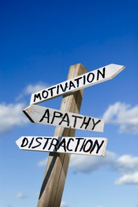 Motivation Apathy Distraction 
