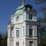 "Berlin, Germany: Tea house ""belvedere"" in Schlossgarten Charlottenburg"