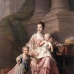Charlotte and her eldest sons